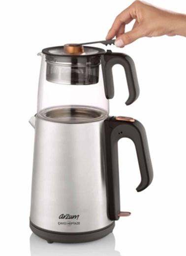 Çaycı Heptaze Cam Çay Makinesi-Arzum